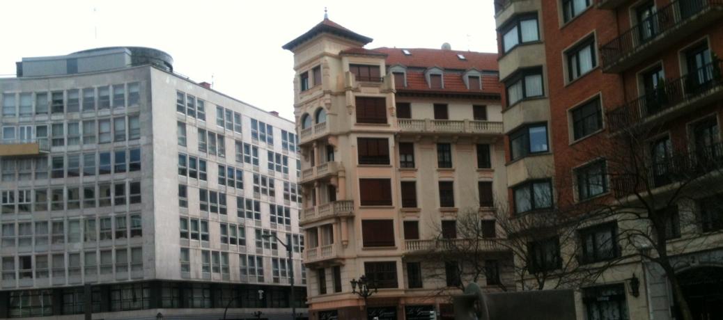 En el centro de Bilbao